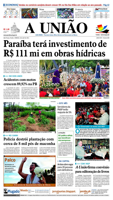 1f0d50f1ccd Jornal A UN IÃO by Jornal A União - issuu
