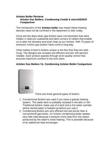 Ariston Boiler by James Kairu - issuu