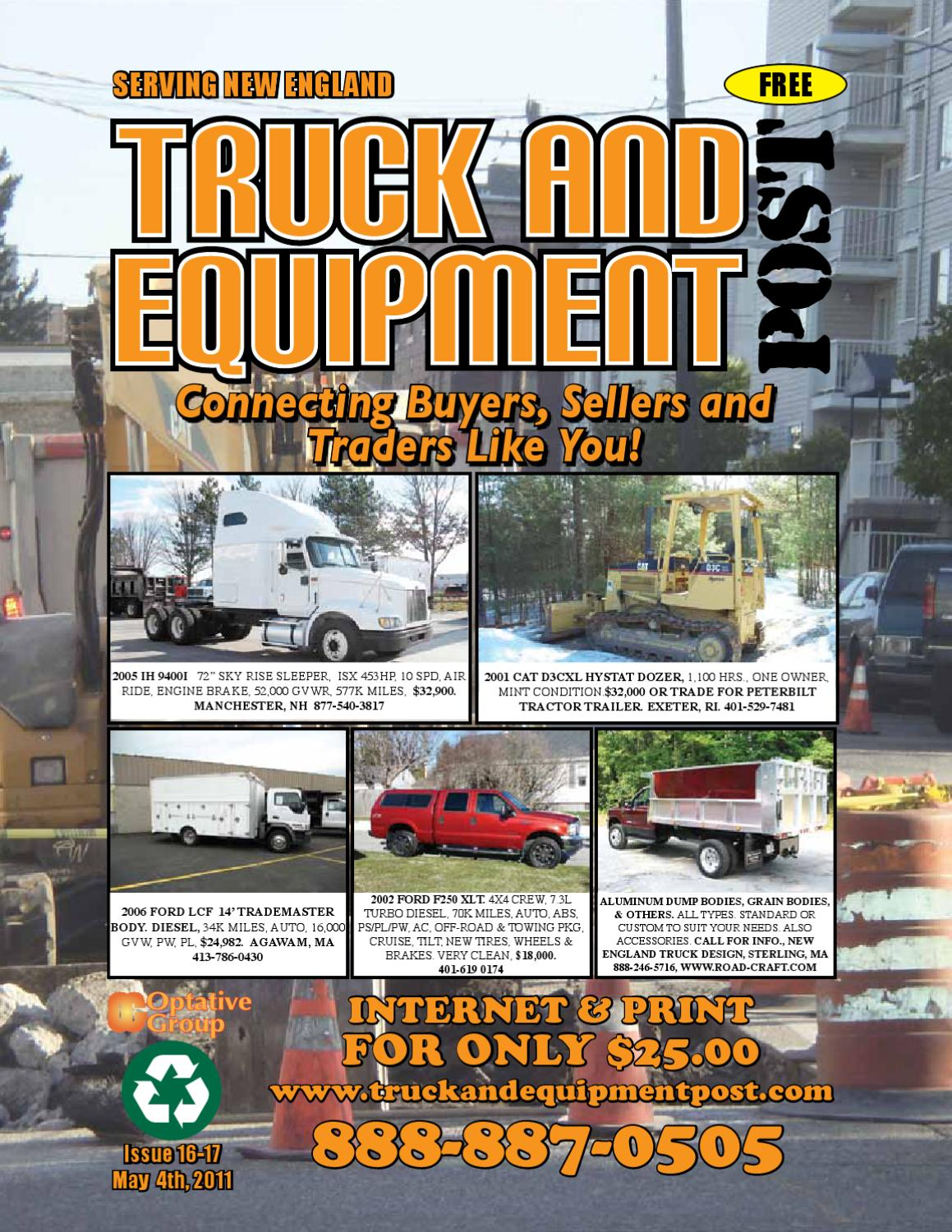 a59ca64bdda Truck And Equipment Post - Issue  16-17