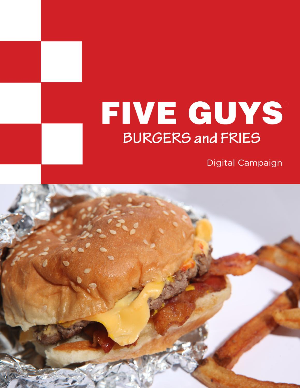five guys burgers and fries ingredients for success essay