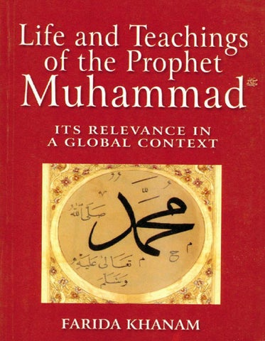 Life and Teachings of the Prophet Muhammad by CPS Global - issuu