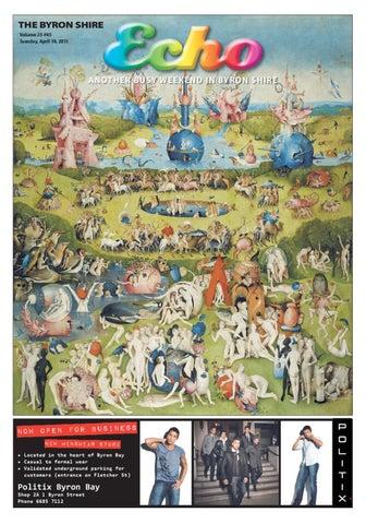 Byron Shire Echo – Issue 25 45 – 19/04/2011 by Echo