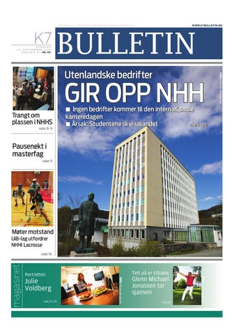 83414e6f K7 Bulletin nr 03 - 2010 by NHH Alumni - issuu