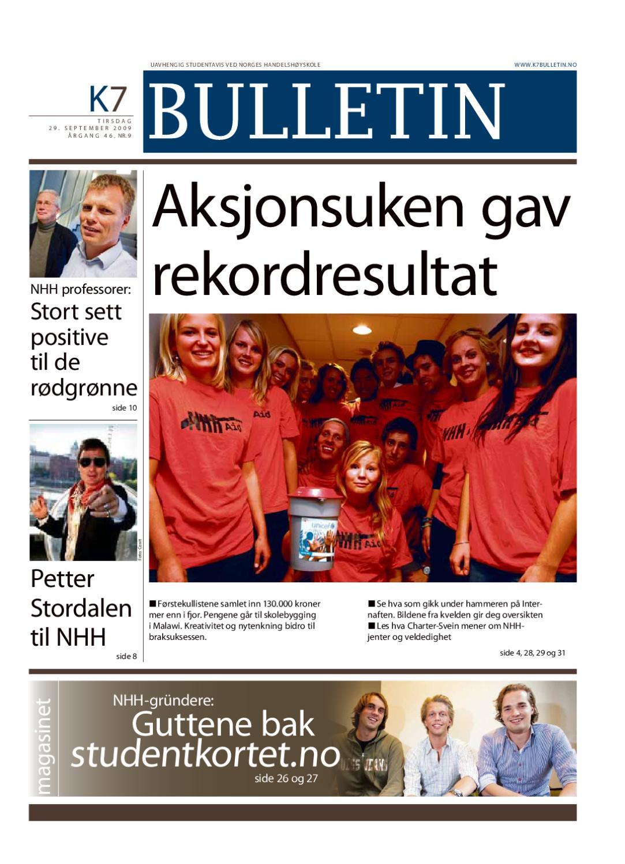 d24d2248 K7 Bulletin nr 09 - 2009 by NHH Alumni - issuu