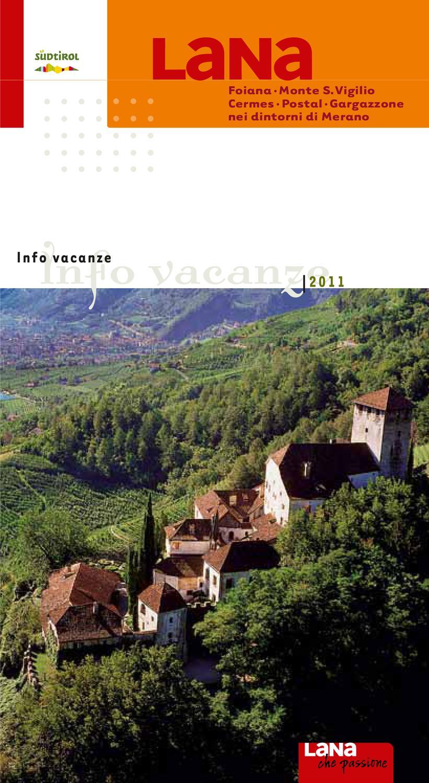 Comune Di Lana Bz lana info 2011 by tourismusverein lana und umgebung - issuu
