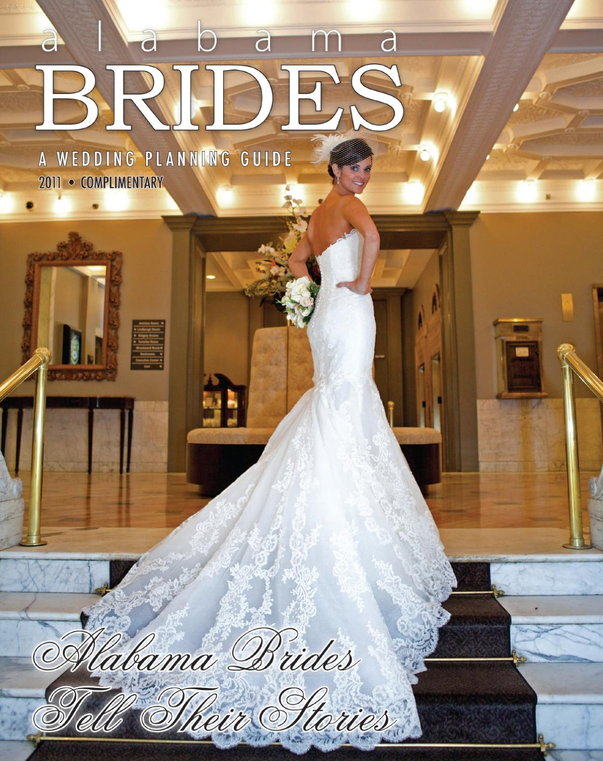 Alabama brides 2011 by montgomery advertiser issuu for Wedding dresses montgomery al
