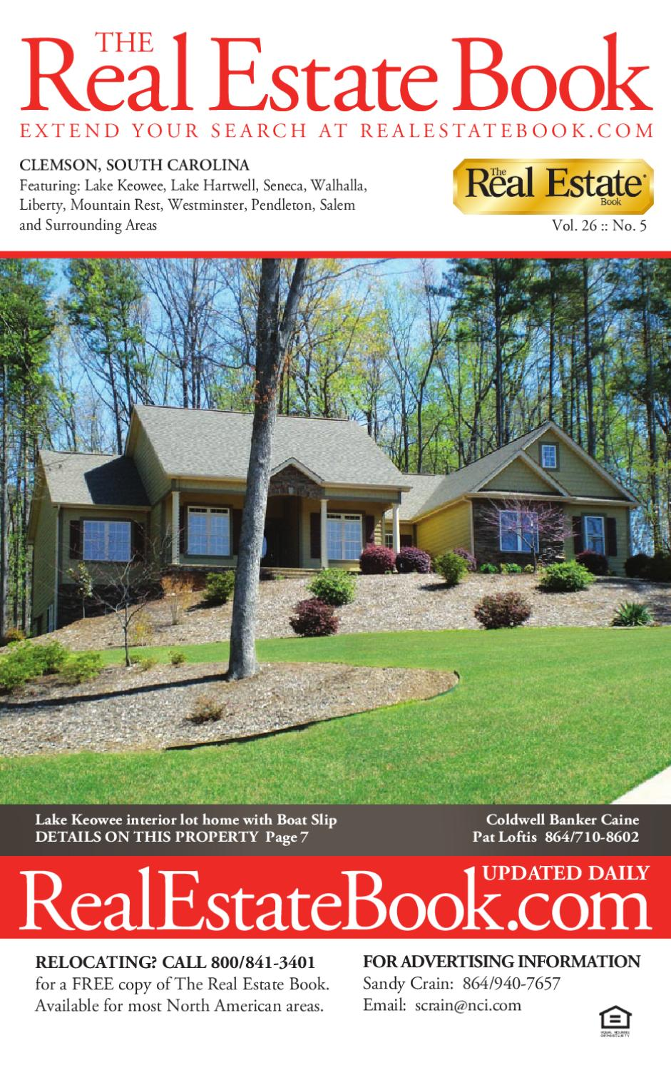 The Real Estate Book Clemson by Patrick McGroder - issuu