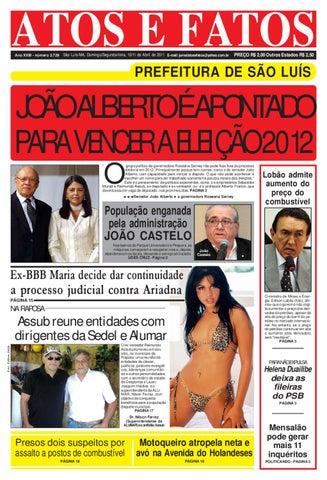 cbad3b286cf1e Jornal de dom seg 10 11 04 2011 by Atos e Fatos 2 jornal - issuu