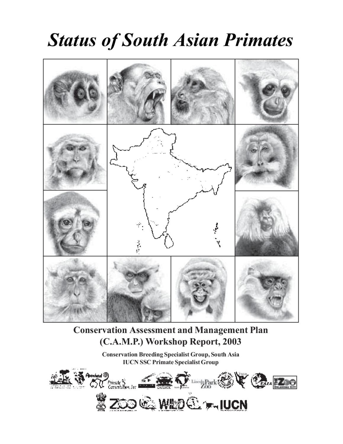 Status of South Asian Primate CAMP Report by ZOO-WILD - issuu