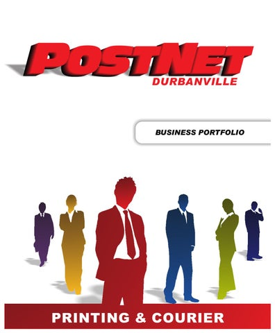 Postnet durbanville by hendrik grobbelaar issuu page 1 durbanville business portfolio printing courier reheart Choice Image