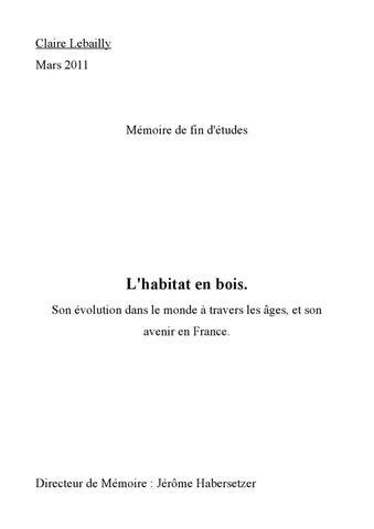 Mémoire de fin d études by Claire Lebailly - issuu 692f961ea65