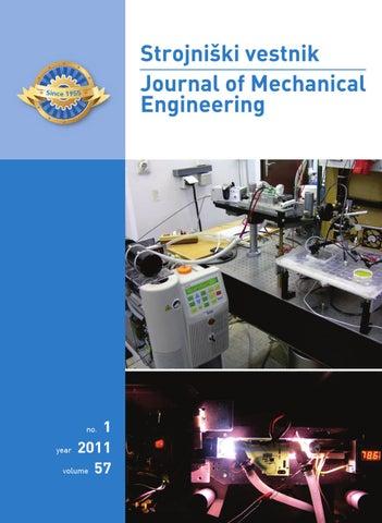 Journal of Mechanical Engineering 2011 1