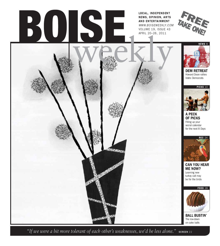 Boise Weekly Vol. 19 Issue 43 by Boise Weekly - issuu