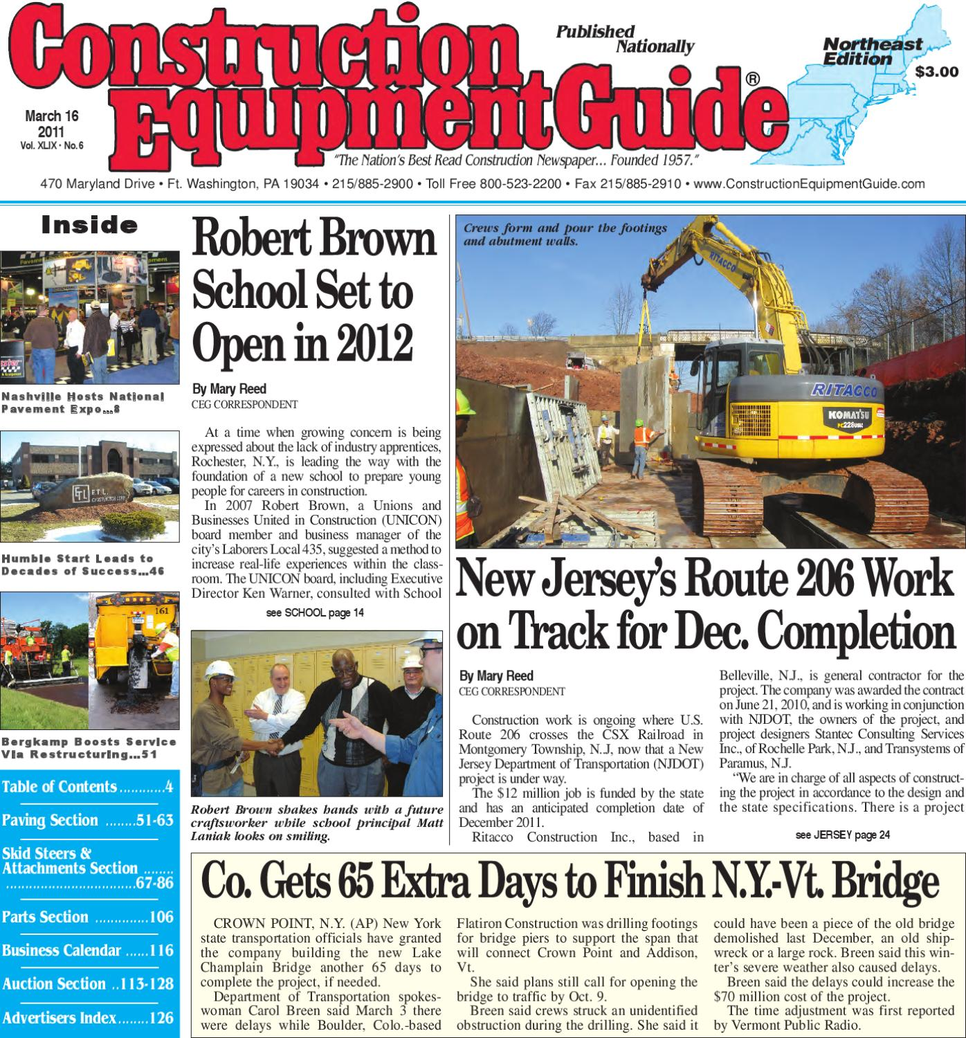 northeast 6 2011 by construction equipment guide issuu