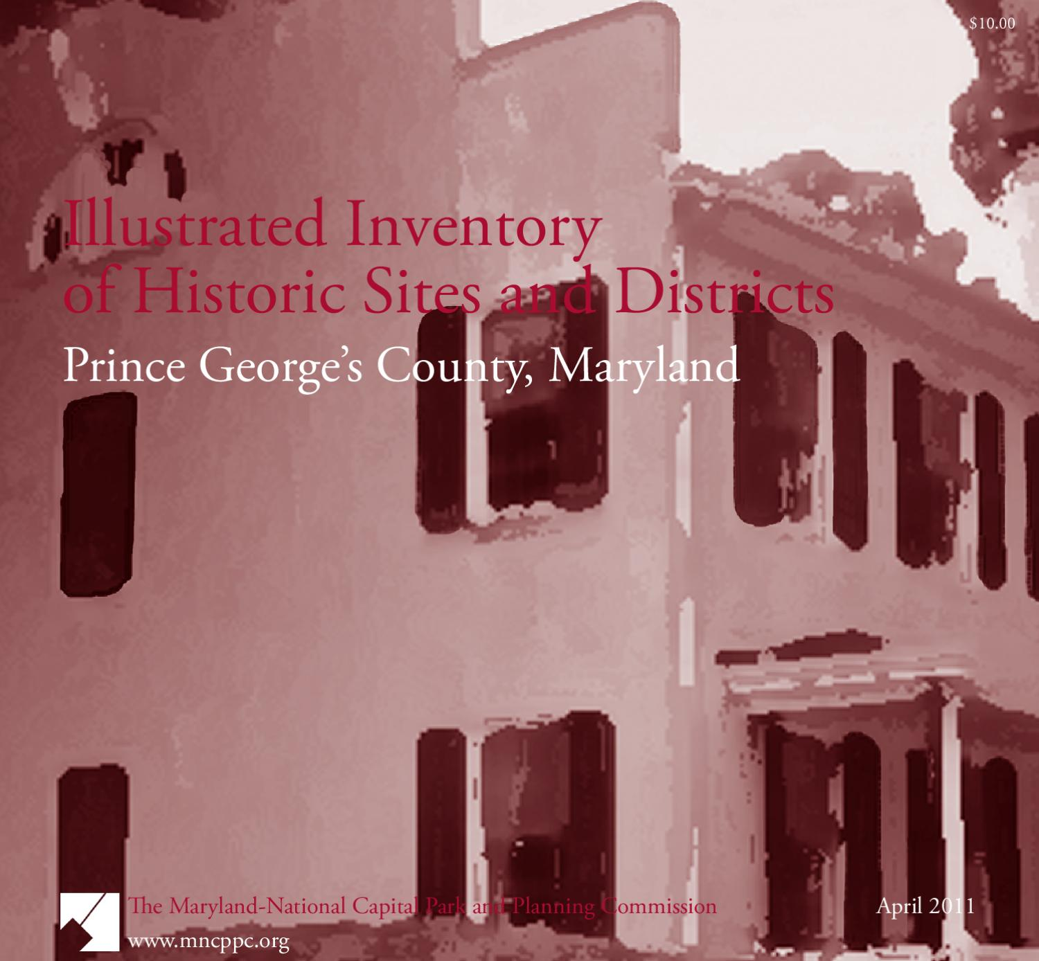 Illustrated Inventory of Historic Sites and Districts