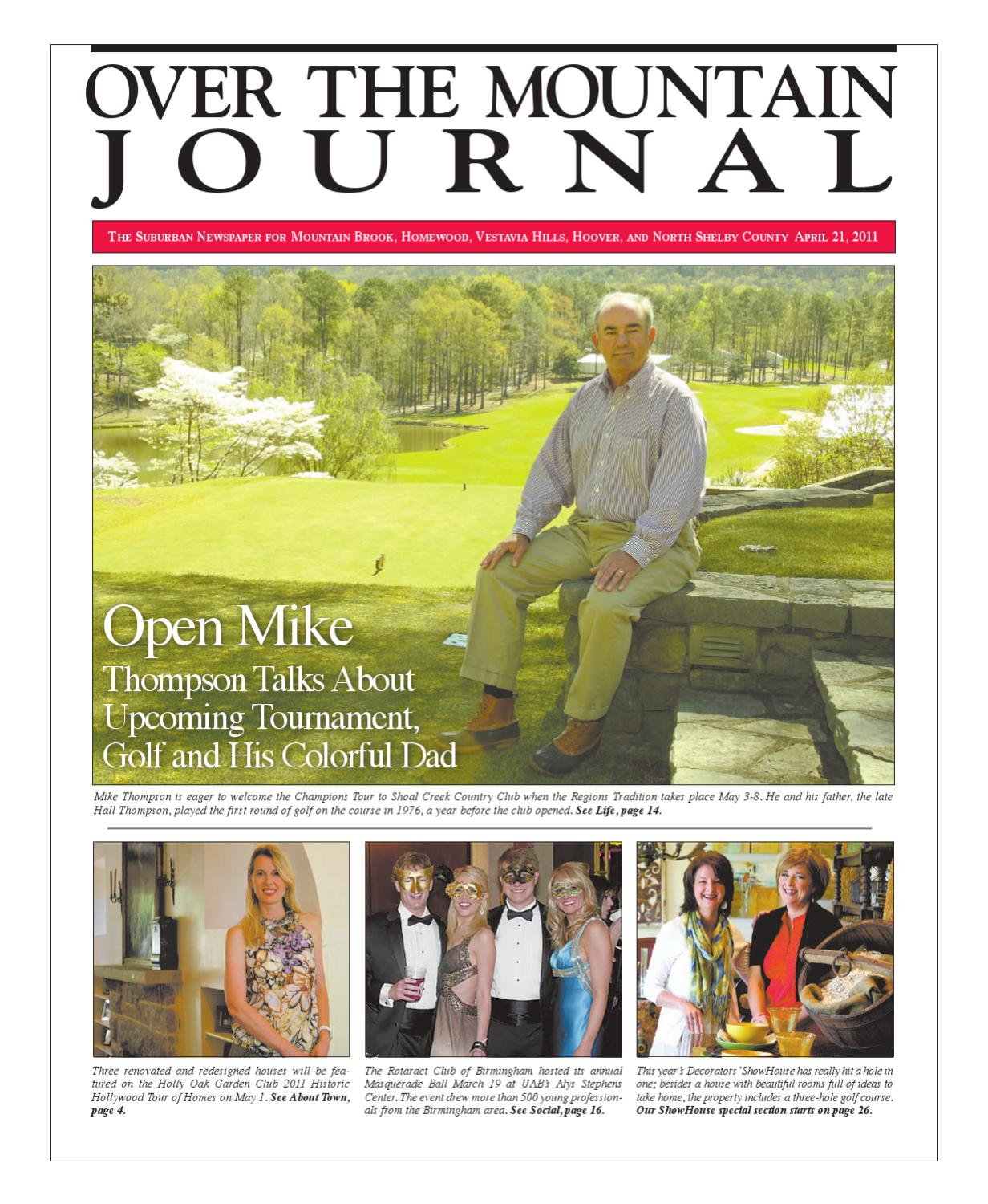 Over the Mountain Journal April 21, 2011 by Over the Mountain ...