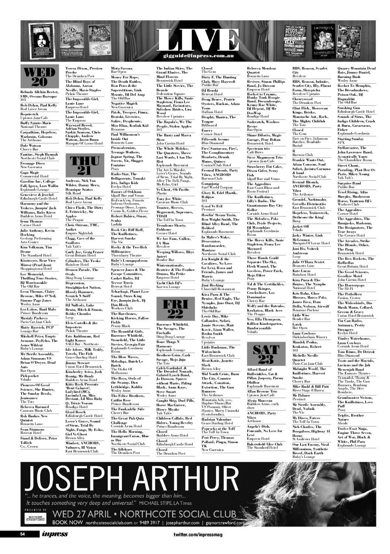 Inpress Issue #1170 by TheMusic com au - issuu