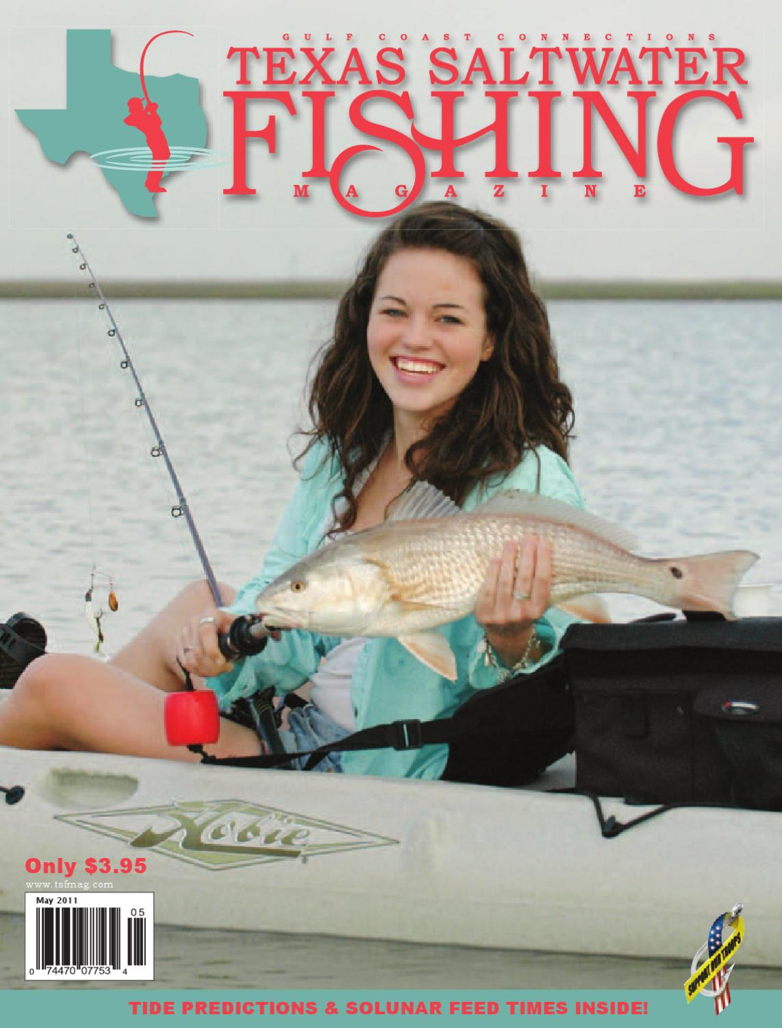May 2011 by texas salwater fishing magazine issuu for Texas saltwater fishing magazine
