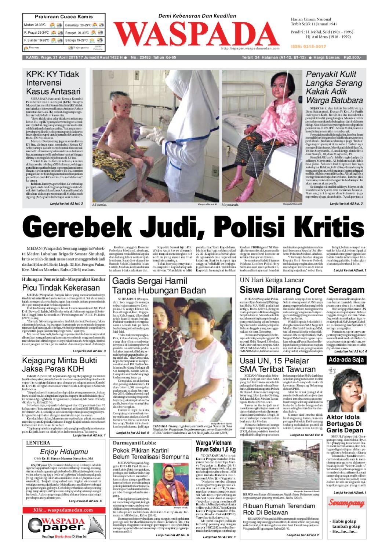 Waspada Kamis 21 April 2011 By Harian Issuu Produk Ukm Bumn Batik Lengan Panjang Parang Toko Ngremboko
