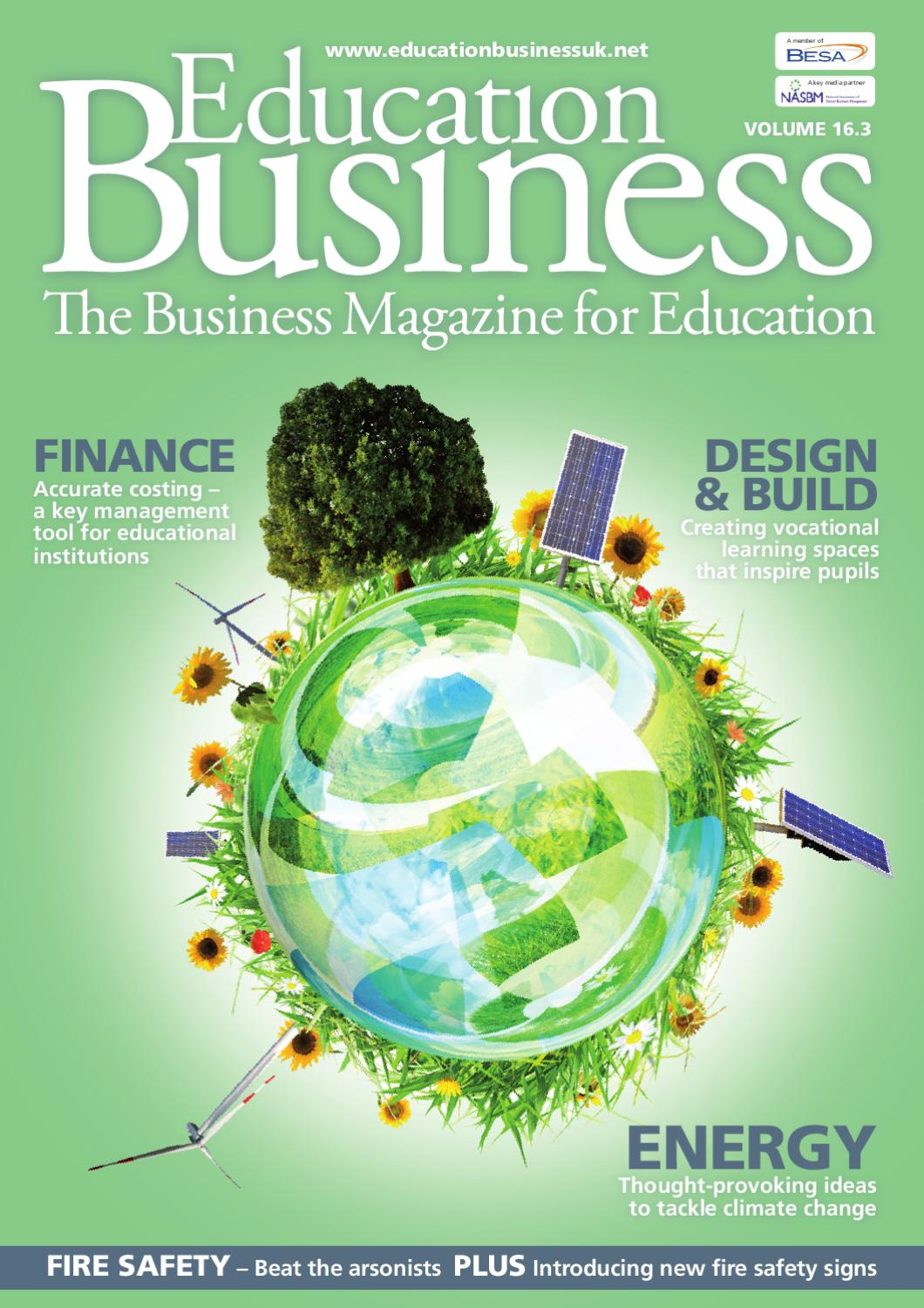Education Business Magazine Issue 16 3 By Public Sector Publishing