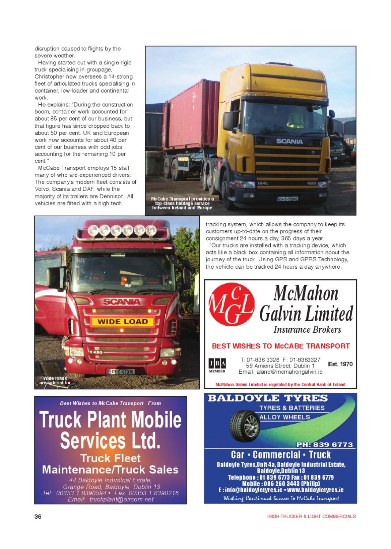 Irish Trucker February 2011 by Lynn Group Media - issuu