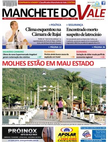 Jornal Manchete do Vale - 38ª Edição by Manchete do Vale - issuu 7d67a5404d38