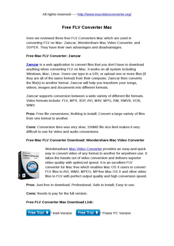free flv converter mac by katrina Jin - issuu