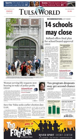 the latest a5c06 f7fce April 22, 2011 by Tulsa World - issuu