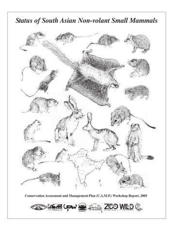 Status of South Asian Non-volant Small Mammals by ZOO-WILD - issuu