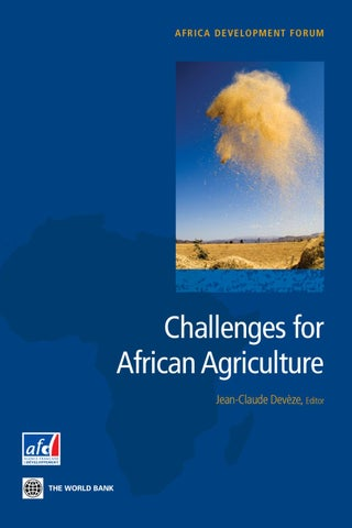 Challenges for african agriculture by world bank publications issuu page 1 fandeluxe Image collections