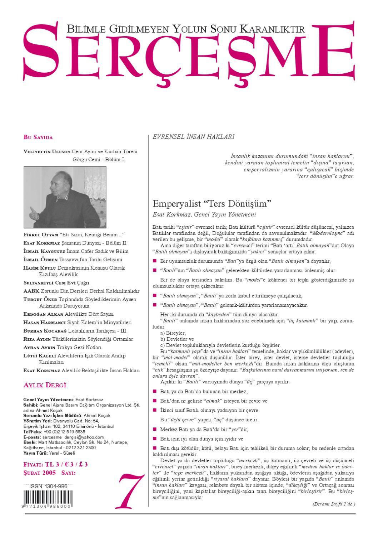01 02 2005 07 Sayi By Alevi Sayfasi Issuu