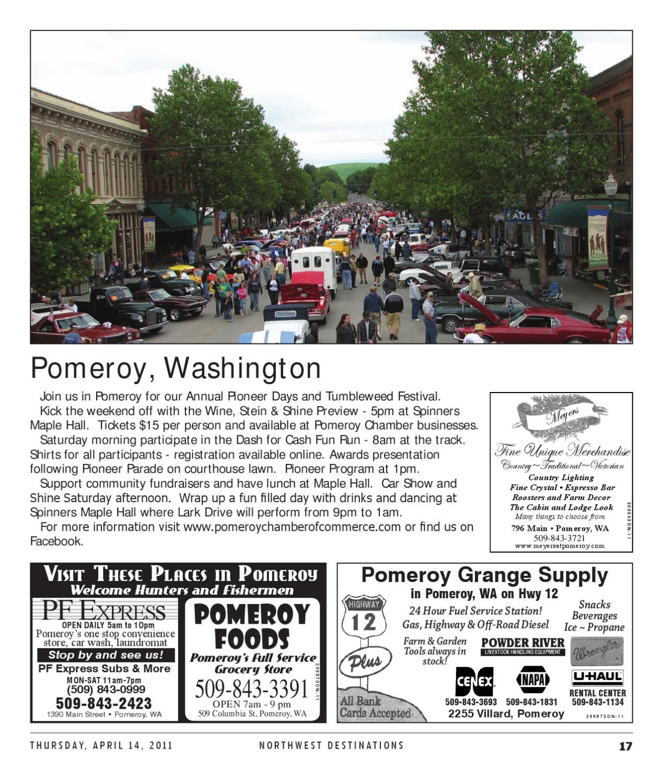 Northwest Destinations 2011 by Lewiston Tribune - issuu