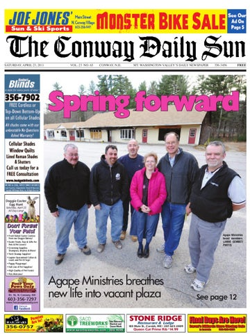7fedb1614ad The Conway Daily Sun, Saturday, April 23, 2011 by Daily Sun - issuu