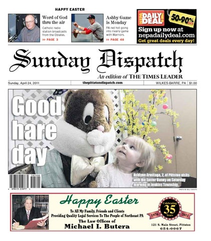 The pittston dispatch 04 24 2011 by the wilkes barre publishing page 1 fandeluxe Image collections
