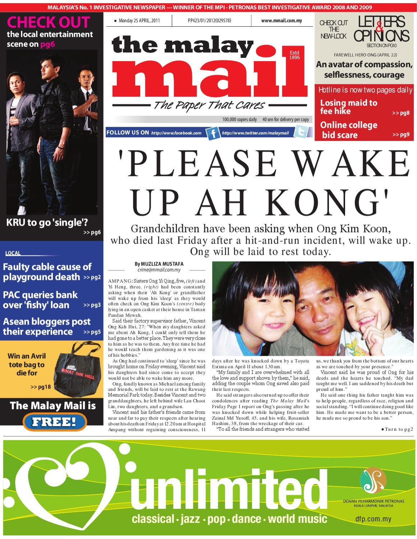 25 April 2011 By Tan Pek Wan Issuu