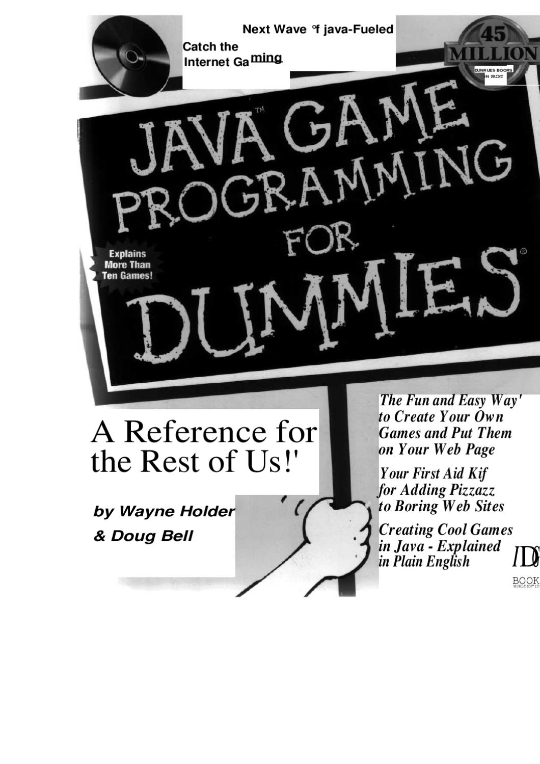 Java game programming for dummies by raghav kumar issuu baditri Images