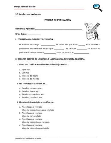 Dibuclic Dibujo Tecnico Basico By Juan Carlos Alvarez Rivera Issuu
