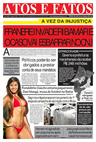 61cc6f2808fc7 Jornal de Dom Seg 24 25 04 2011 by Atos e Fatos 2 jornal - issuu
