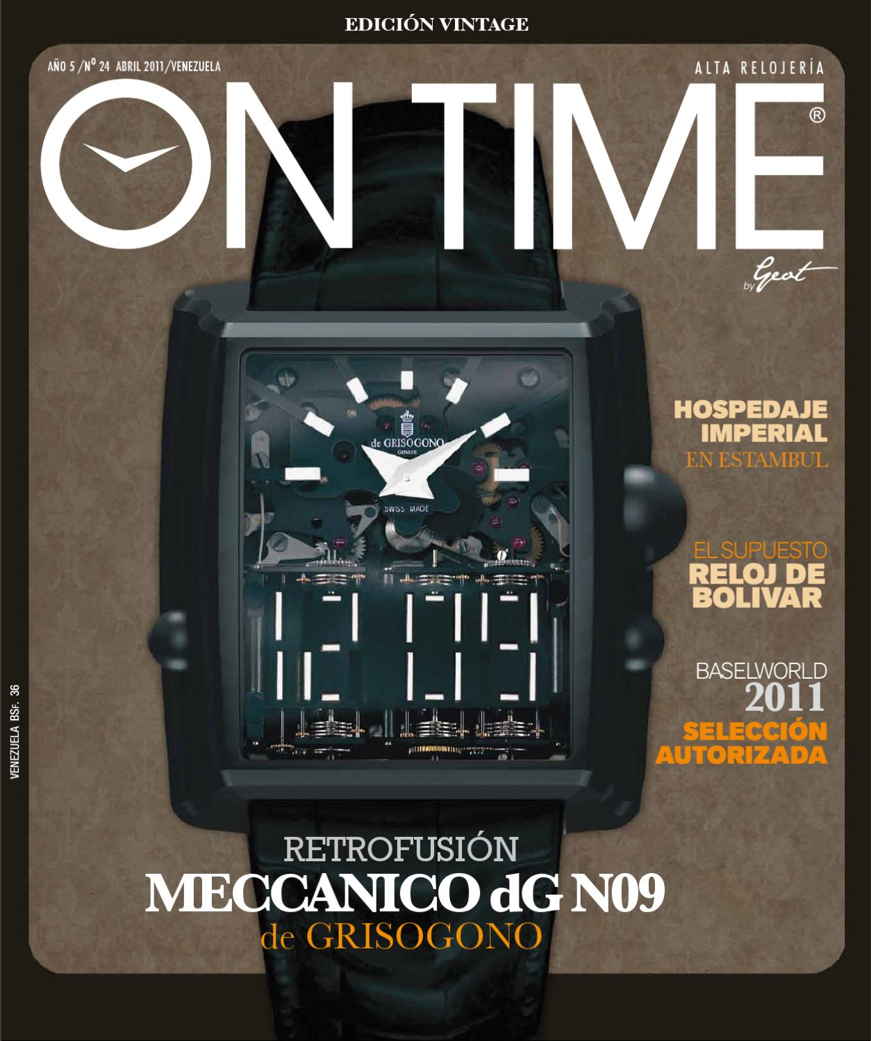 On Time - Abril 2011 by Geot  Grupo Editorial On Time  - issuu 91c972d0342