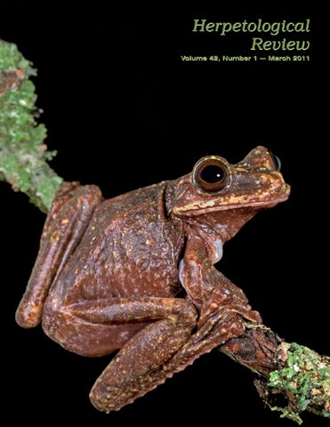 Herpetological Review by Craig Hassapakis - issuu