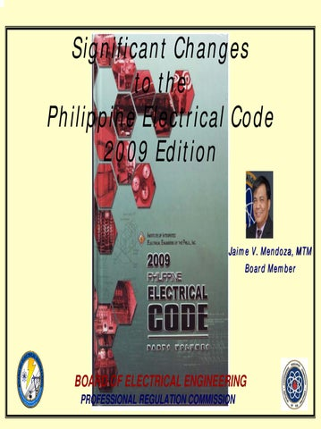Significant changes to the philippines electrical code 2009 significant changes to the philippine electrical code 2009 edition keyboard keysfo Images