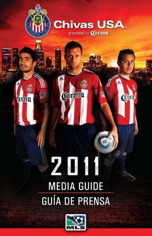 6fe62f5ce CONTENIDO   CONTENTS CLUB DEPORTIVO CHIVAS USA CALENDARIO 2011 MLS SCHEDULE