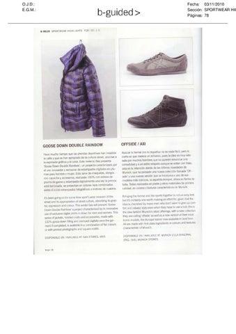 0fcd5ac2a0c9 MUNICH CLIPPING 2010 4 4 by MUNICH® Sports   Fashion Shoes - issuu