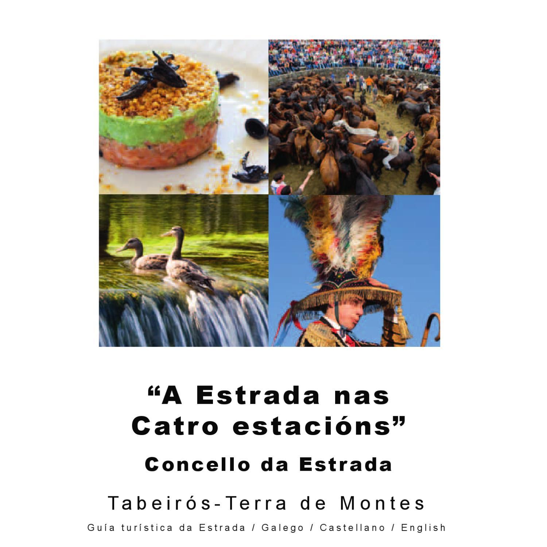 Tourist Guide Of A Estrada Pontevedra Galicia Spain By Tono Arias  # Muebles Boqueixon