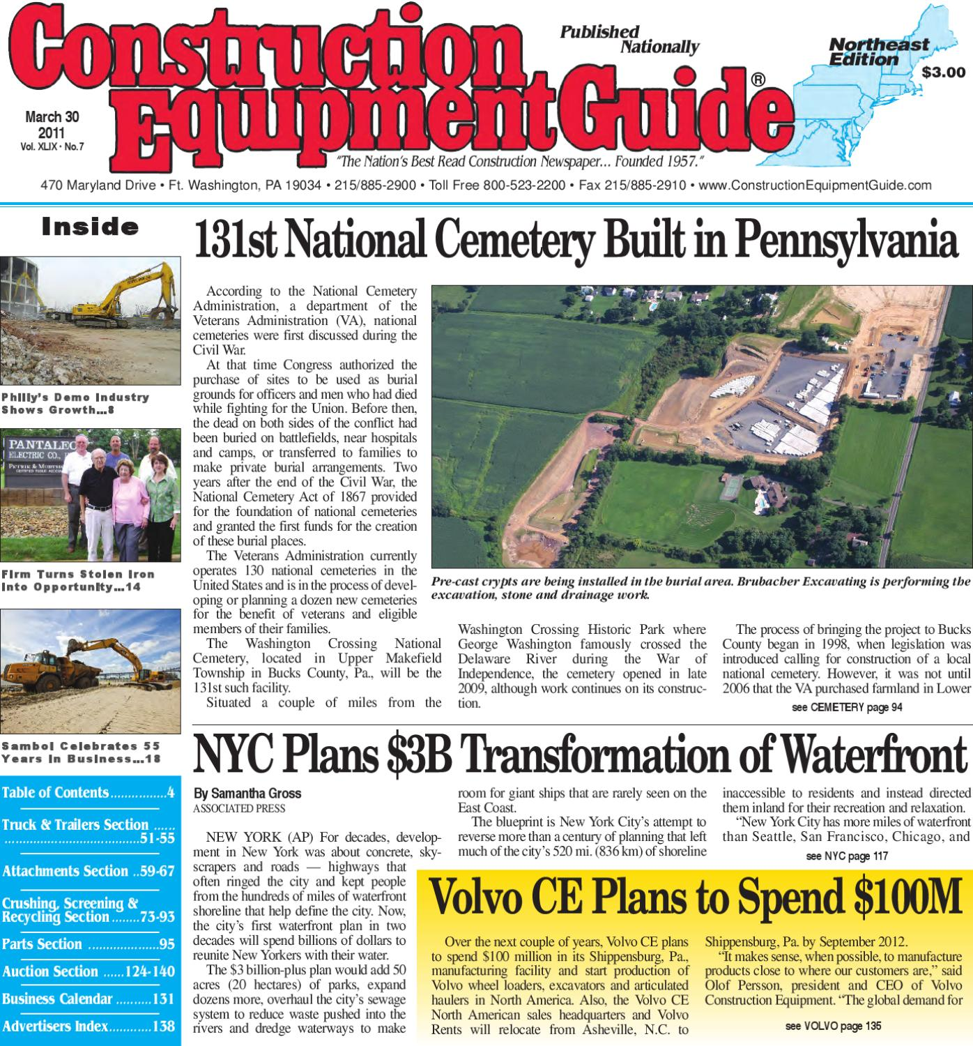 Northeast 7 2011 By Construction Equipment Guide Issuu Servo Extension Cord Snaps Wiring Chuck Plug Holder Alex Nld