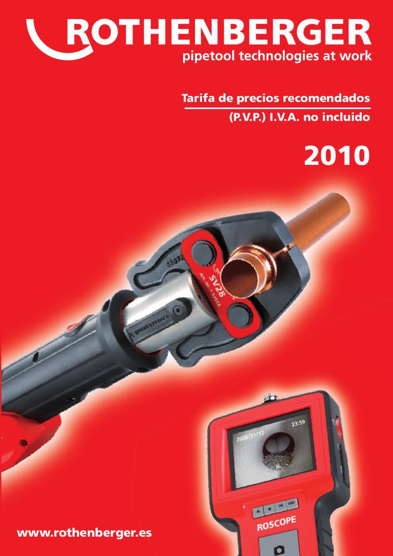 Rothenberger-minicut 2000 Cortador de Tubo de 7.0105 tipo