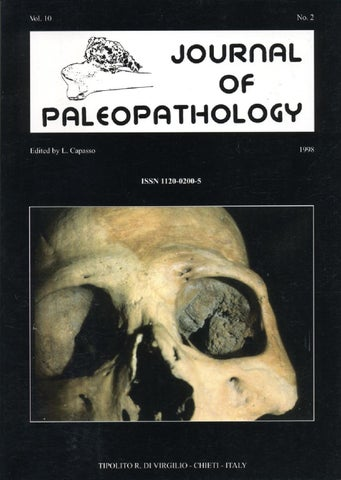 "Cover of ""JoP  Vol. 10  n.2 - 1998"""