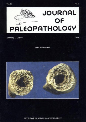 "Cover of ""JoP  Vol. 10  n.3 - 1998"""
