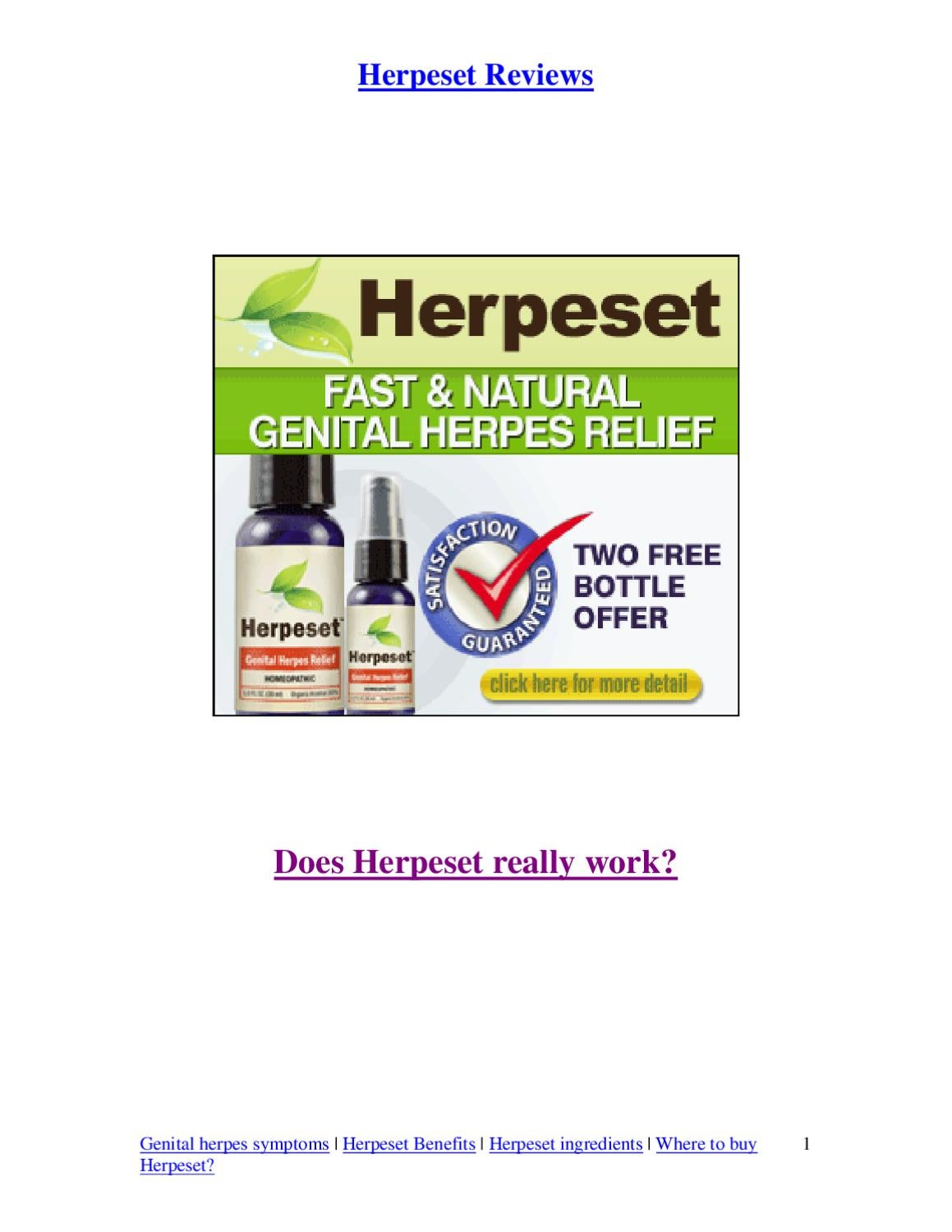 Does Herpeset Really Works By Misty Pearl Issuu