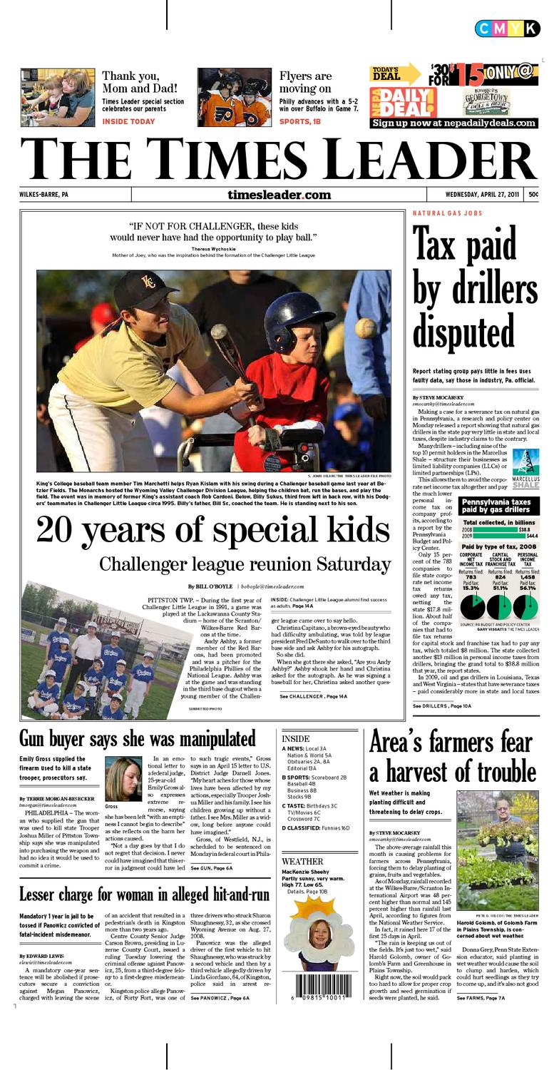 Times Leader 04 27 2011 by The Wilkes Barre Publishing